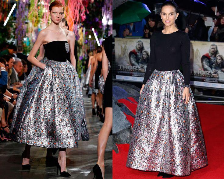 Christian Dior vs Natalie Portman