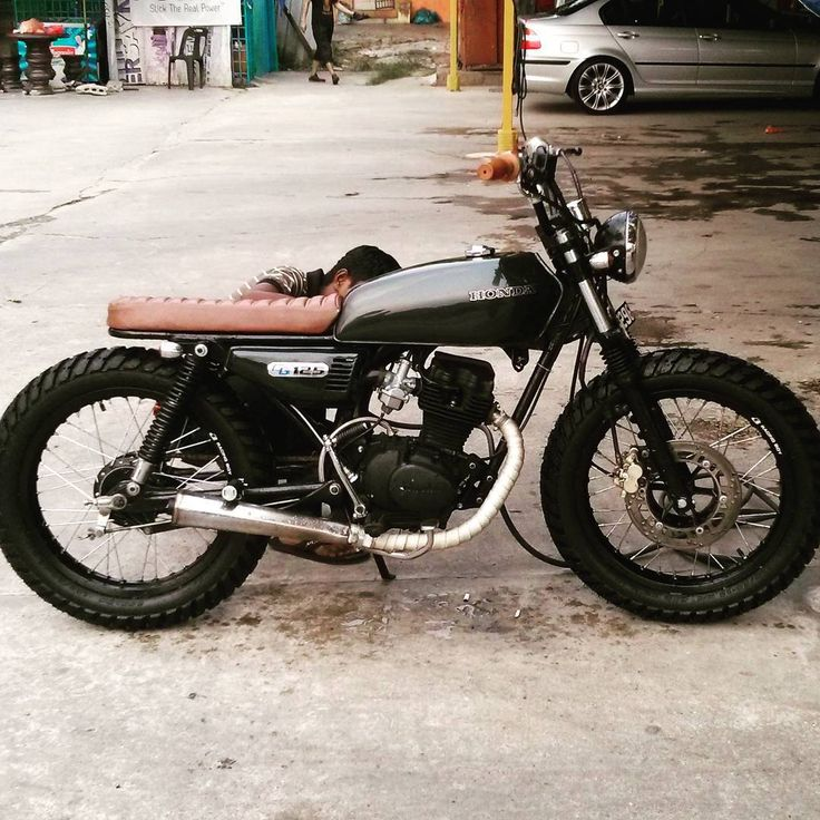 Extrêmement Lala Loco (@lalaloco44) Honda CG 125 | Small Displacement Cafe  RU96