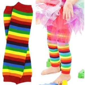 cute cute: Clowns Costumes, Alice Toddlers Baby Girls, Boys Or Girls, Girls Generation, Rainbows Legs, Baby Legs Warmers, Rainbows Stripes, Sewing Baby Kids Dolls Toys, Stripes Baby