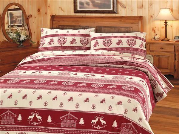 Tessuto tirolese per il letto