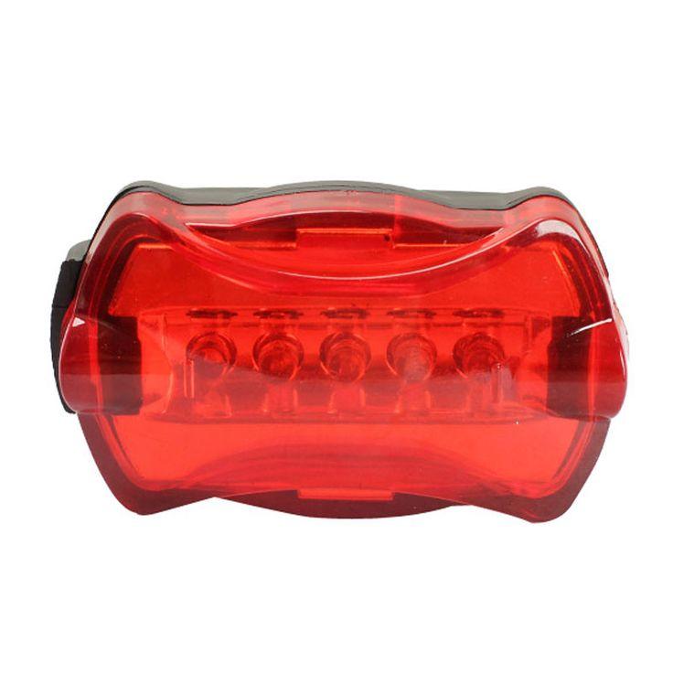 دراجة الذيل الخلفي ضوء دراجة الاكسسوارات السوبر مشرق مصباح دراجة ضوء الصفتي الأحمر 6 led تحذير فلاش جودة عالية