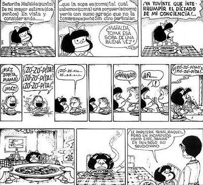 Para reir! #mafalda