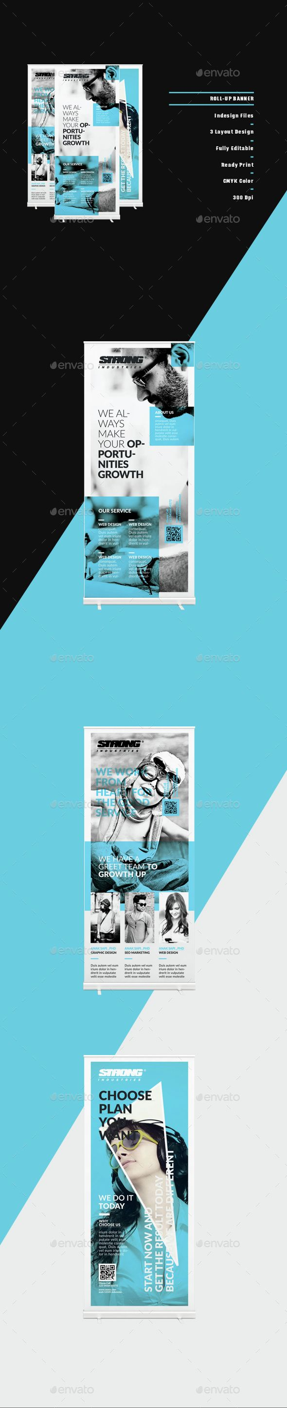 Banner — InDesign INDD #photo #set • Available here → https://graphicriver.net/item/banner/14821565?ref=pxcr