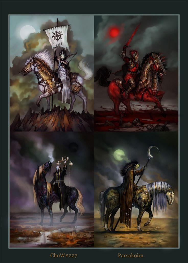 Four Horsemen War 62 best 4 Horsemen / A...