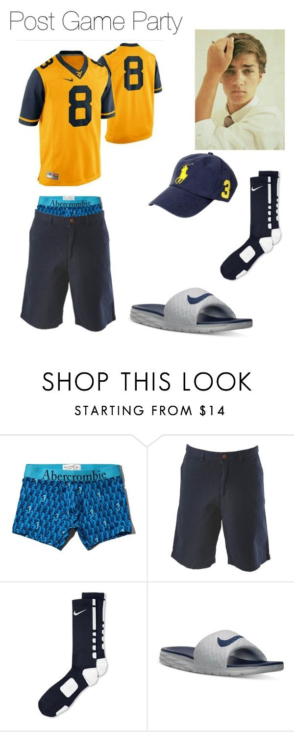 """""""James Post Game Party"""" by patsgirl99 ❤ liked on Polyvore featuring Abercrombie & Fitch, Tommy Bahama, NIKE, Polo Ralph Lauren, mens, men, men's wear, mens wear, male and mens clothing"""