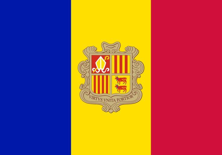 Flag of Andorra - Andorre — Wikipédia