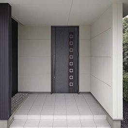 LIXIL | 玄関まわり | アヴァントスIS | 施工イメージ 17型 メタリックブラック