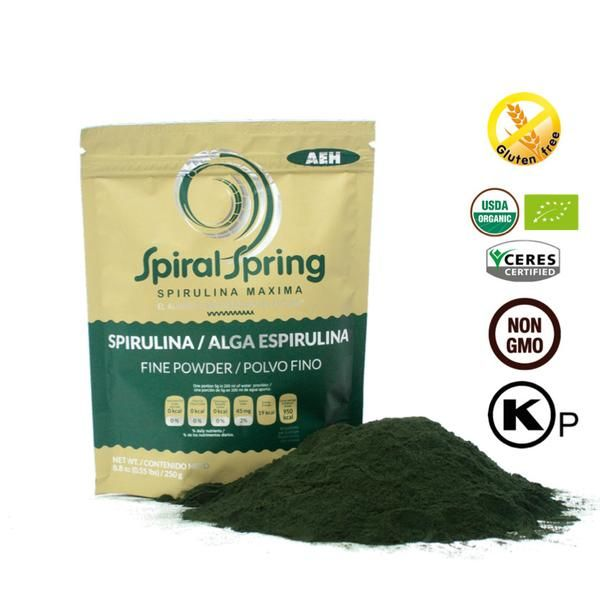 Spirulina Maxima in it Purest Form. Perfect for Who's looking to push their health to its highest limits. The World Best Quality Organic Spirulina Powder. List of organic Spirulina Powder health benefits
