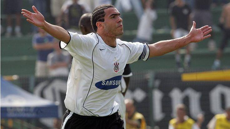 Tevez - Corinthians 7 x 1 Santos - 2005.