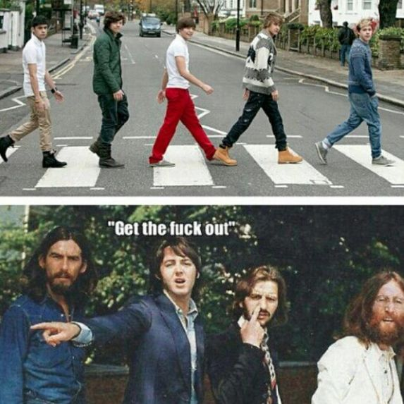 beatles memes | ociomaldito.com » » The Beatles versus One Direction