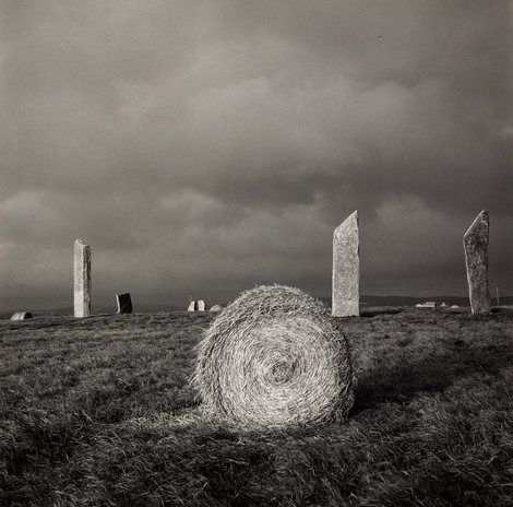 Fay Godwin, Stones of Stenne (Orkney Islands, UK) on ArtStack #fay-godwin #art