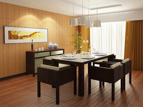 Modern Glass Top Dining Table Set