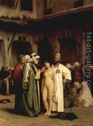 Slave Market (or For Sale)  by Jean-Léon Gérôme