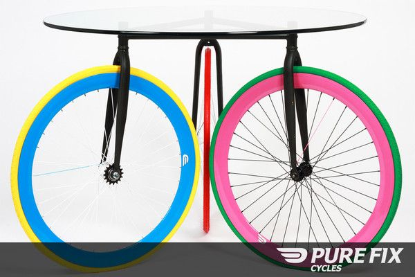 dining table for Fixie lovers.