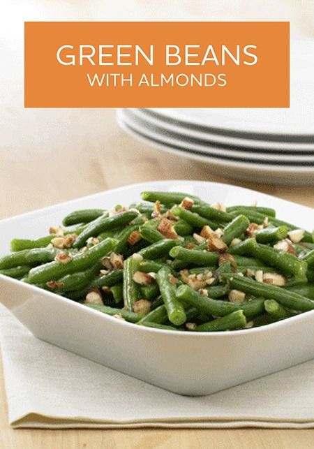 Green Beans with Almonds | Recipe | To be, Almond recipes and Almonds