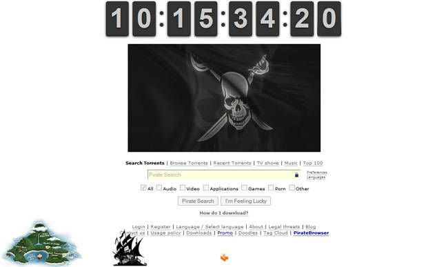 The Pirate Bay's Website Updated Again With More Familiar Design http://www.ubergizmo.com/2015/01/the-pirate-bays-website-updated-again-with-more-familiar-design/