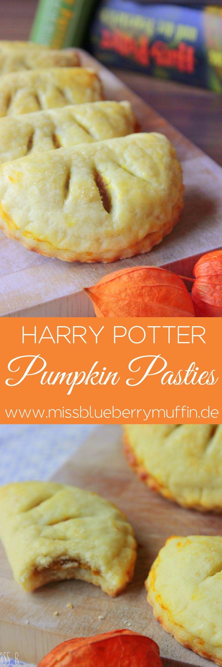 Magische Kürbispasteten aus der großen Halle // Pumpkin Pasties // Harry Potter // Hand pies <3