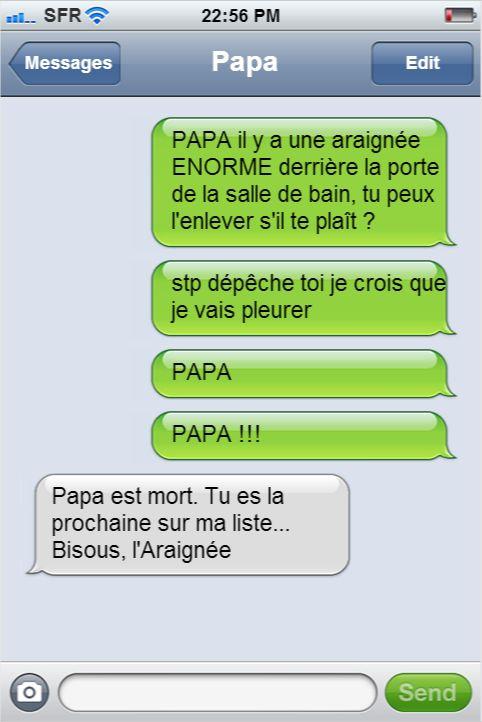 Les textos entre les dad and mom et leurs enfants les plus drôles qui aient jamais été envoyés. Du génie !