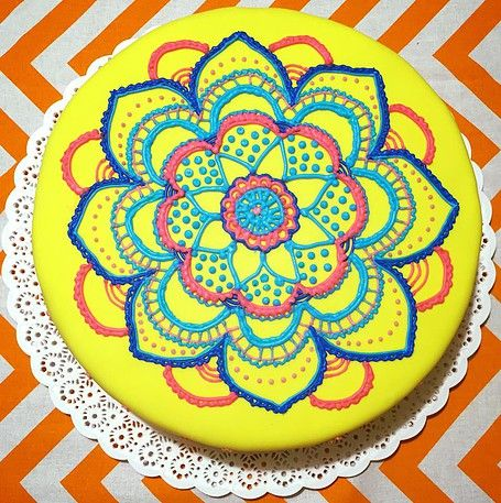 Torta Mandala / Mandala Cake
