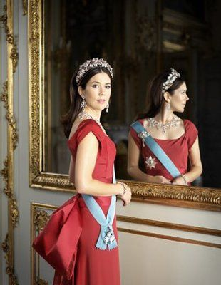 How do I not know anything about the Crown Princess of Denmark?  She is gorgeous!