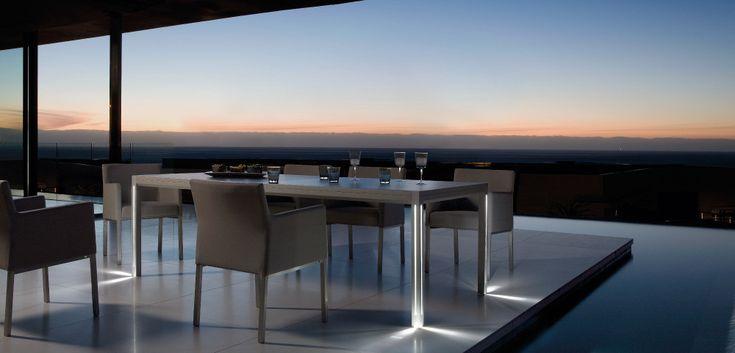 Modern Belgian furniture designed by Manutti. #modern #design #furniture