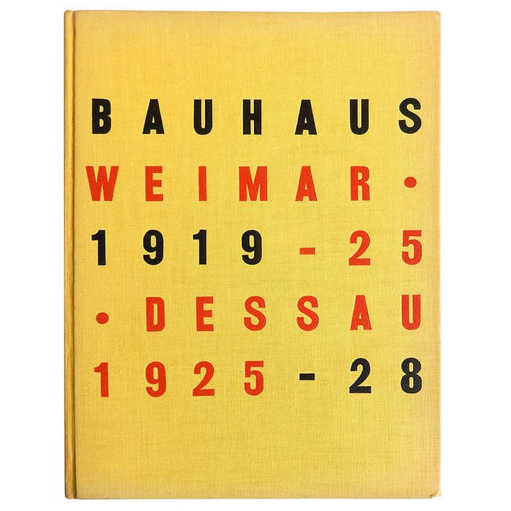 Bauhaus 1919-1928 1st Edition MOMA Exhibition Catalogue, 1938   From a unique collection of antique and modern books at http://www.1stdibs.com/furniture/more-furniture-collectibles/books/