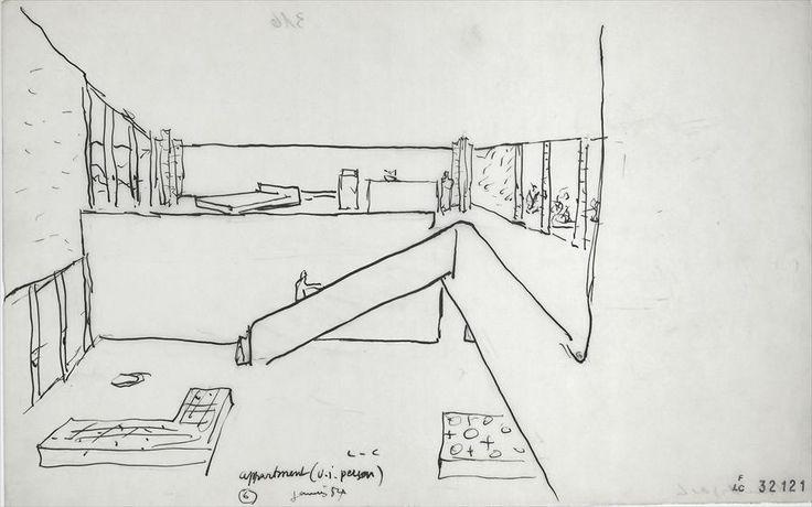 Le Corbusier, Palais du Gouverneur, Chandigarh, 1950-65
