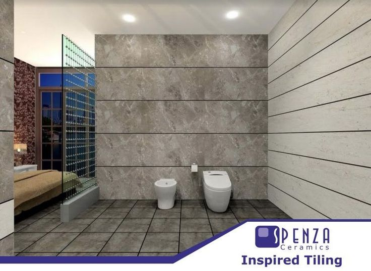 Get #sophistication in your #bathroom with Digital Glazed Vitrified Tiles from Spenza Ceramics...