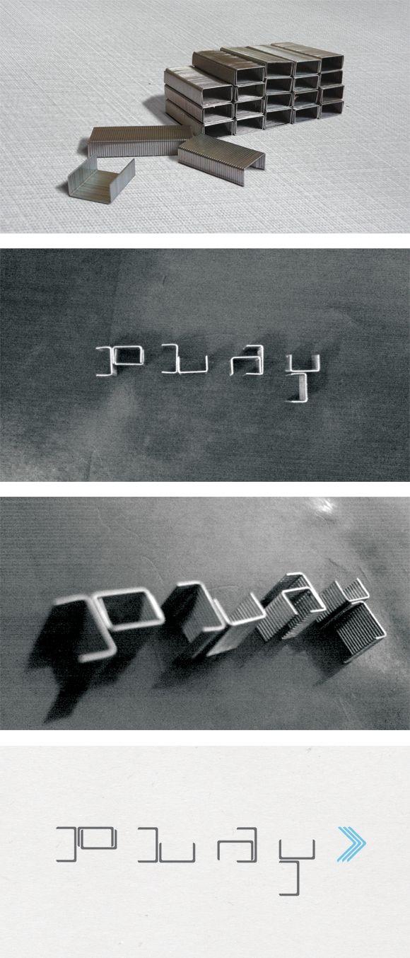 Let's PLAY Logotype!: Logotyp Plays, Creative Typography, Staples Logos, Aka Vamadesign, Graphics Design, Design Tipografi, Plays Logotyp, Logos Branding, Letterpresses Typography