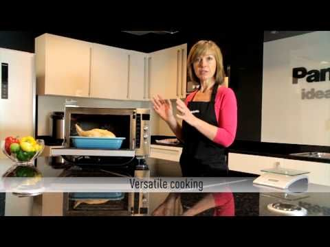 How to use your Panasonic combination microwave oven - YouTube