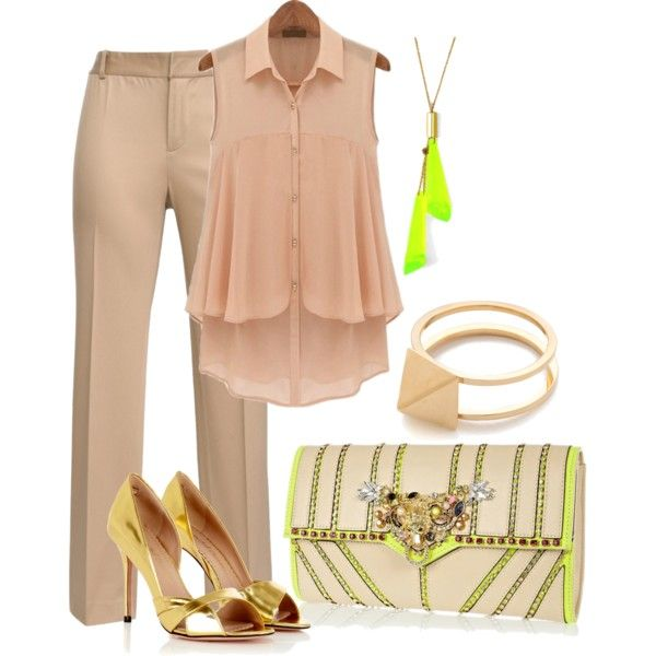 Touch of Neon Contest, created by jcmp on Polyvore