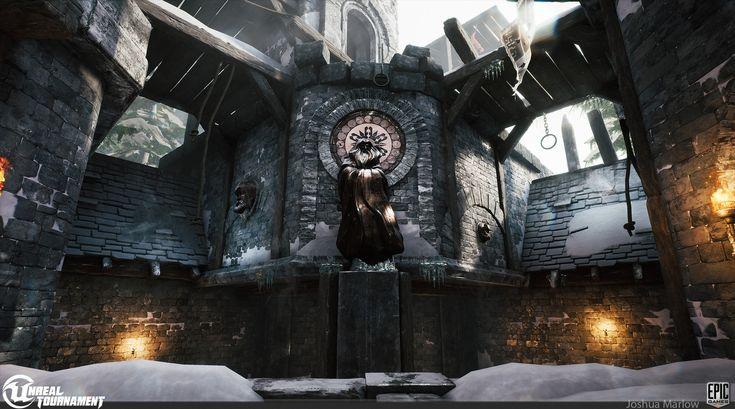 Unreal Tournament DM-Chill , Josh Marlow on ArtStation at https://www.artstation.com/artwork/5KQ6O