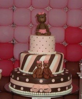 baby shower cakes ideas for girls - Google Search