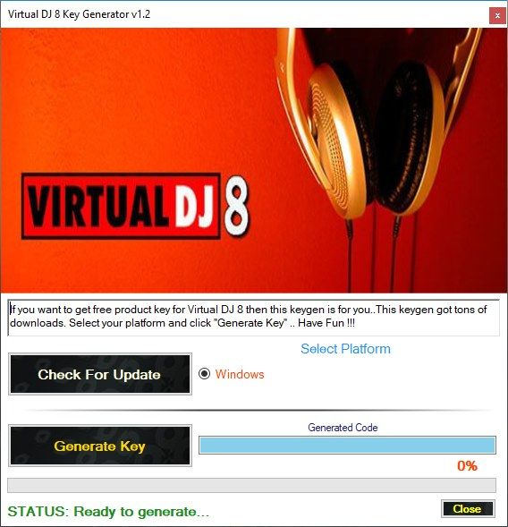 Virtual DJ 8 Activation Key Generator 2018 | Free Game Keygens and