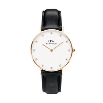 Buy Daniel Wellington Womens 0951DW Classy Sheffield Stainless Steel Watch With Black Leather Band online at Lazada. Discount prices and promotional sale on all. Free Shipping.