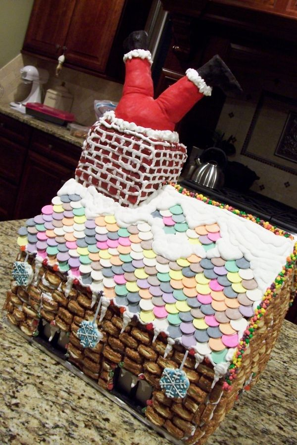 Our ginger bread house for this year