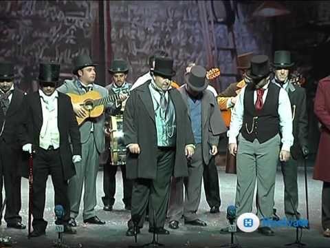 """CARNAVAL DE HUELVA / CARNAVAL COLOMBINO """"Por Blas Miguel Hernández"""": 2010-LA MÁQUINA DEL TIEMPO (Preliminares)"""