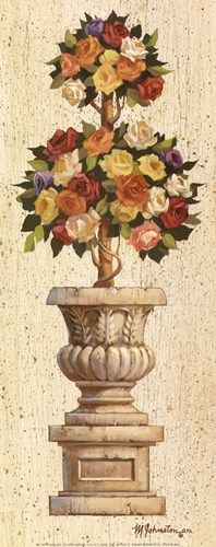 Rose Topiary (Maxine Johnston)