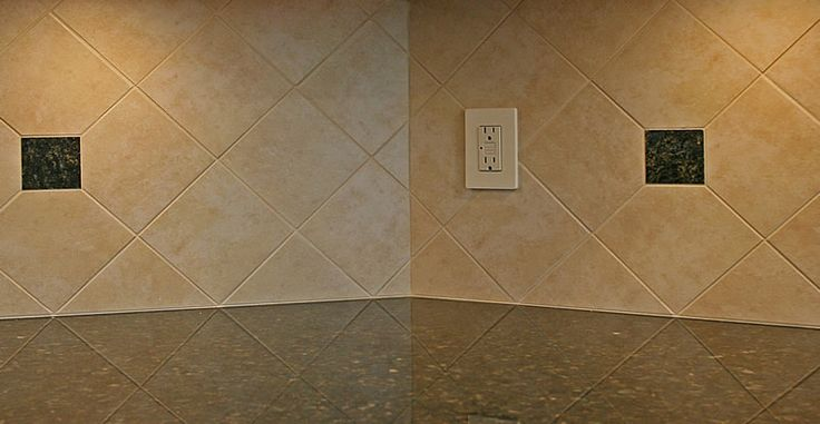 Backsplash Patterns 3x8 Tile Tile Kitchen Back Splash On