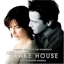 The Lake House.  Sandra Bullock is great as usual in this movie.