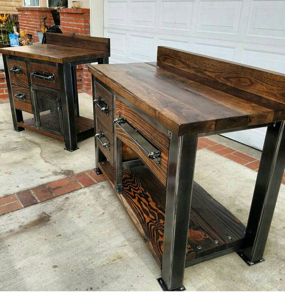 Check out this item in my Etsy shop https://www.etsy.com/listing/491501870/industrial-reclaimed-serving-buffet