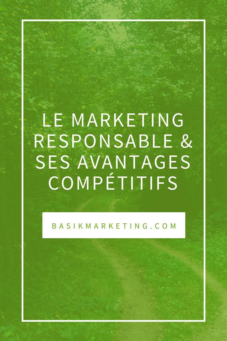 Le marketing responsable et ses avantages compétitifs | BASIK
