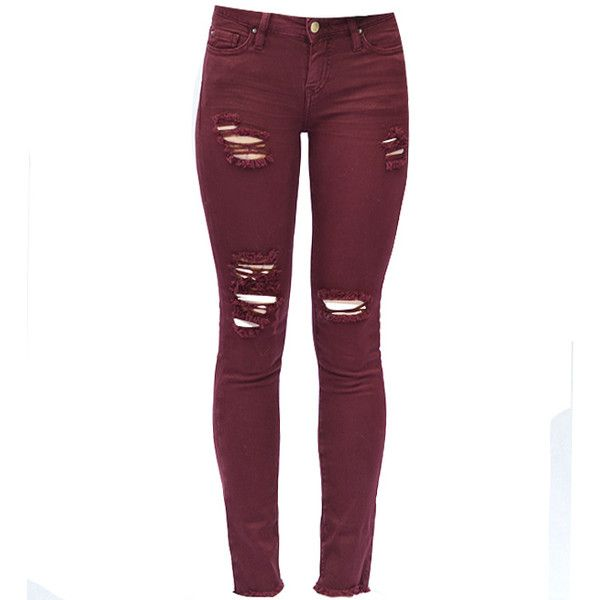 Find burgundy skinny jeans women at ShopStyle. Shop the latest collection of burgundy skinny jeans women from the most popular stores - all in one.