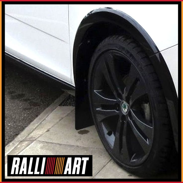 Skoda Fabia MK2 Monte Carlo 2013 Rally Mud Flaps Black with No Logo 4mm PVC | eBay
