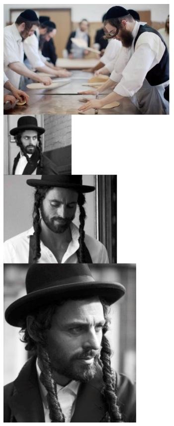 Hot Ultra-Orthodox Jewish Men With Sexy Hair, Prepare The Matzo.