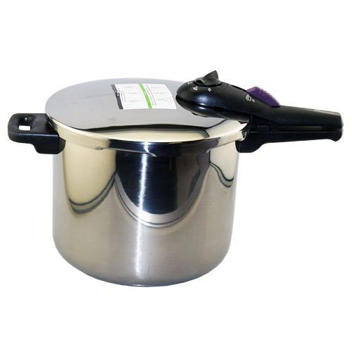 Fagor Splendid 10-Quart Pressure Cooker/Canner Stainless Steel Quick Cooking