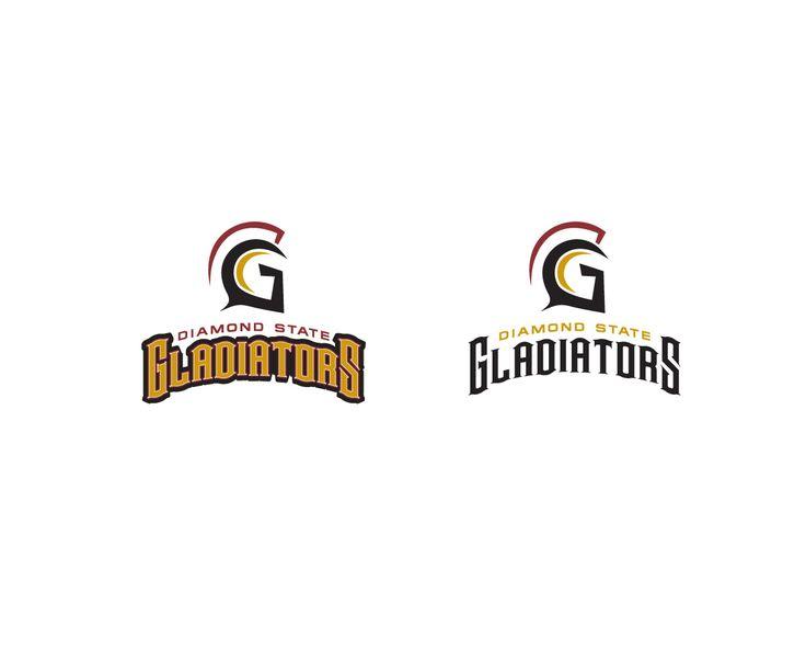 Logo Design by BuckTornado for Diamond State Gladiators #monogram #design #logo #DesignCrowd
