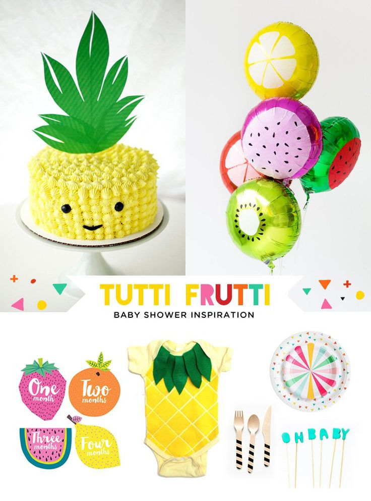 Tutti Frutti Baby Shower Ideas & Inspiration (Hostess with the Mostess®)