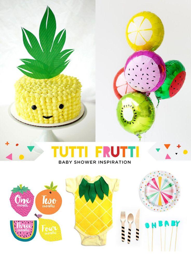 Tutti Frutti Baby Shower Ideas & Inspiration
