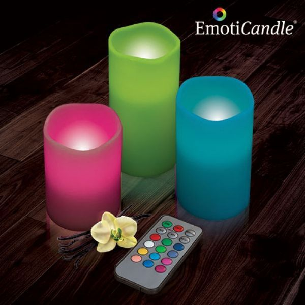 Candele LED EmotiCandle